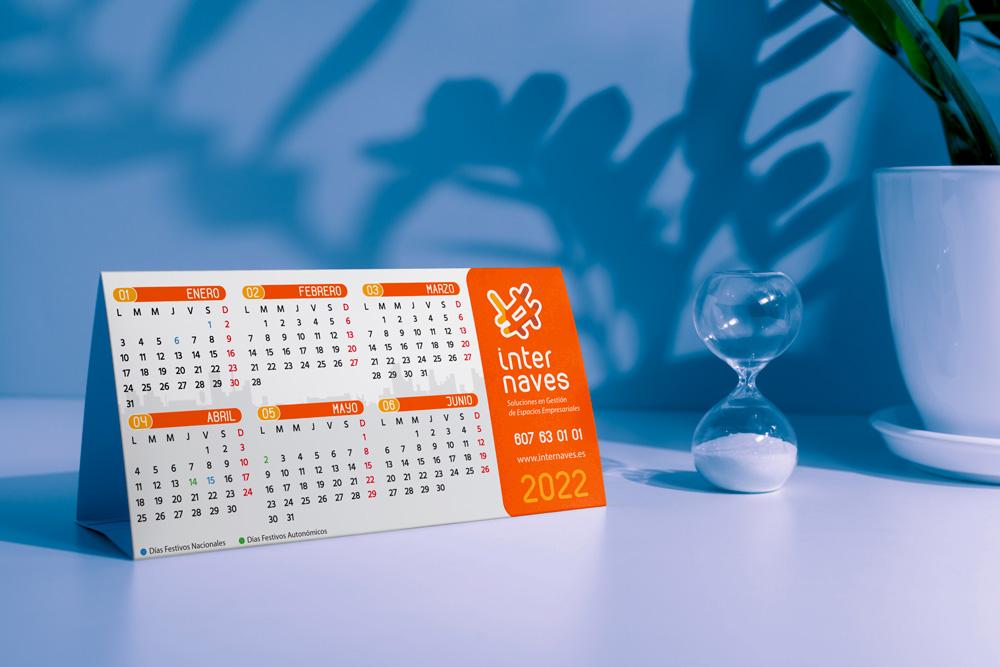 Calendario promocional Internaves